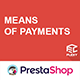 Flexy means of payment logo footer for PrestaShop
