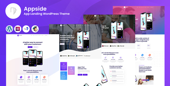 Download Appside - App Landing WordPress Theme v1.0.2 nulled