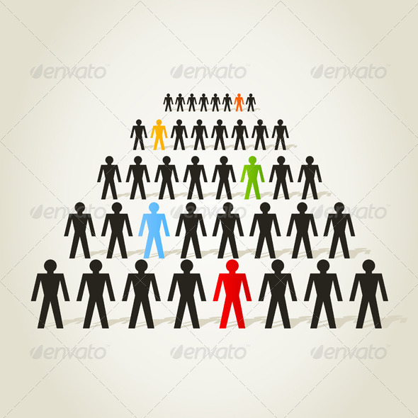 Crowd of People - People Characters