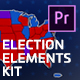 Election Elements Kit | MOGRT for Premiere Pro - VideoHive Item for Sale