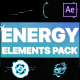 Cartoon Energy Elements Pack | After Effects - VideoHive Item for Sale