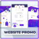Website Promo with Devices Mockup - VideoHive Item for Sale