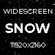 Snow Widescreen - VideoHive Item for Sale