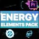 Cartoon Energy Elements Pack | Premiere Pro MOGRT