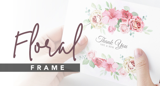 Floral Frame Collections