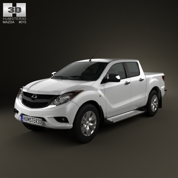 Mazda BT-50 DualCab 2012 - 3DOcean Item for Sale
