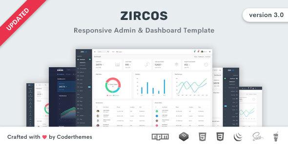 Zircos - Bootstrap 4 Admin & Dashboard Template