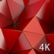 Red Polygon Waves 87 - VideoHive Item for Sale