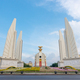 Democracy monument with blue sky in Bangkok, Thailand - PhotoDune Item for Sale