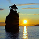 Pacific Ocean Sunset in British Columbia - VideoHive Item for Sale