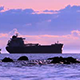Pacific Ocean Sunset in Vancouver City - VideoHive Item for Sale