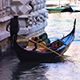 Venice Gondola With Tourists - VideoHive Item for Sale