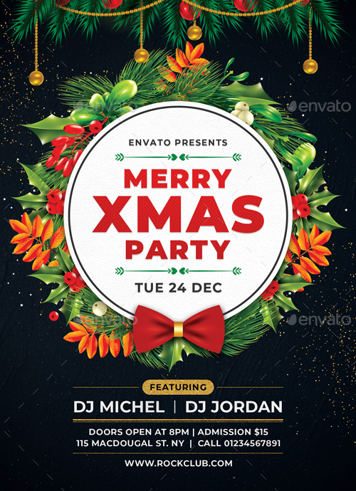 Christmas Flyer By Sunilpatilin GraphicRiver