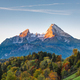 The first sunlight hits Mount Watzmann - PhotoDune Item for Sale