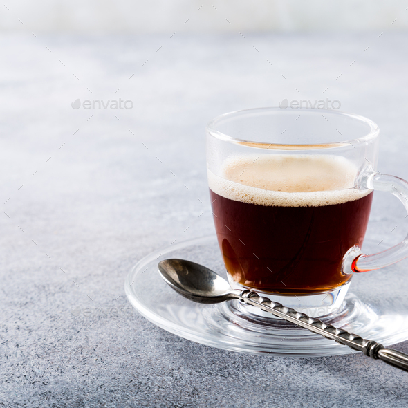 White cup of coffee - Stock Photo - Images