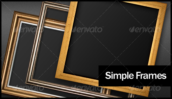 Simple Frames - Home & Office Isolated Objects