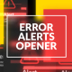 Error Messages Glitch Opener - VideoHive Item for Sale