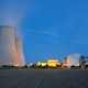 Nuclear Power Station At Night - PhotoDune Item for Sale