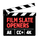 Film Slate Openers - VideoHive Item for Sale