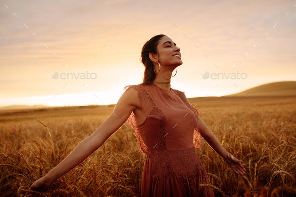 Feeling free - Stock Photo - Images