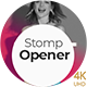 Stomp Opener - Bold Typo Fast Stomp Intro