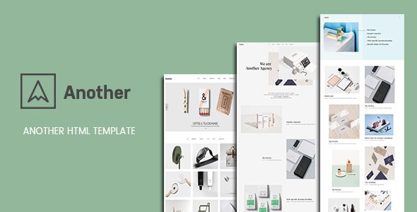 Another - Creative Minimal Portfolio HTML Template