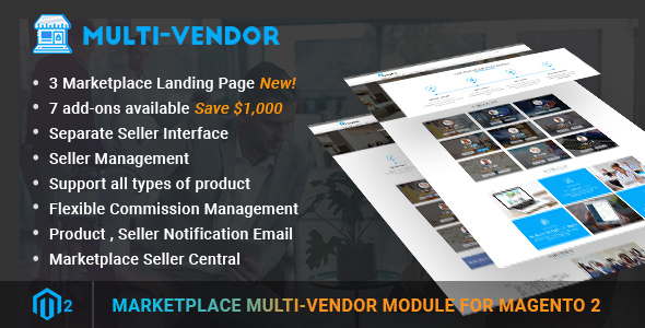 Magento 2 Marketplace Multi Vendor Module