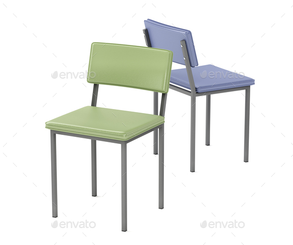 Leather chairs - Stock Photo - Images