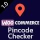 WooCommerce Pincode/ Zipcode Checker