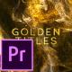 Golden Titles - Premiere pro