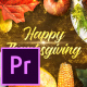 Thanksgiving Wishes - Premiere Pro
