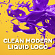 Clean Modern Liquid Logo - VideoHive Item for Sale