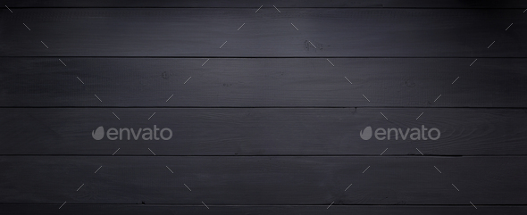 black wooden background as texture - Stock Photo - Images