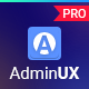 AdminuxPRO Dashboard HTML Bootstrap 4, Angular 8 and React  Starterkit
