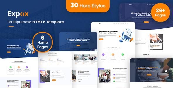 Expox | Multipurpose HTML5 Template