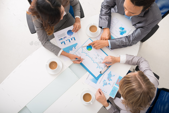 Meeting of entrepreneurs - Stock Photo - Images