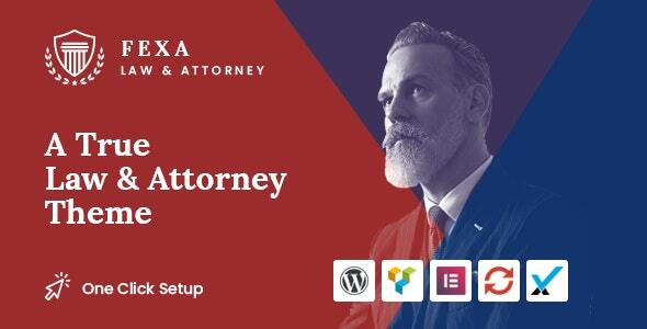 Download Fexa- Lawyer & Attorney WordPress Theme Free Nulled