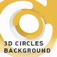 3D Circles Background - VideoHive Item for Sale