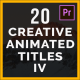 Creative Animated Titles