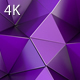 Purple Polygon Waves 89 4K - VideoHive Item for Sale