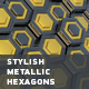 Stylish Metallic Hexagons - VideoHive Item for Sale