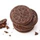 stack of chocolate cookies - PhotoDune Item for Sale