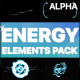 Cartoon Energy Elements Pack | Motion Graphics Pack - VideoHive Item for Sale