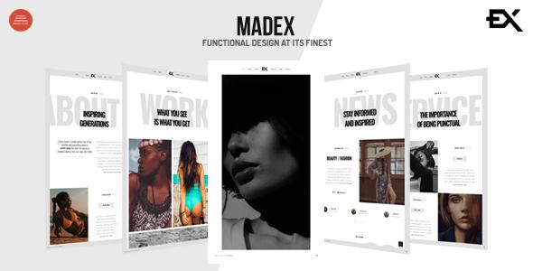 Madex - Creative Photography Portfolio Template