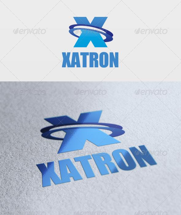 Xatron Logo - Letters Logo Templates