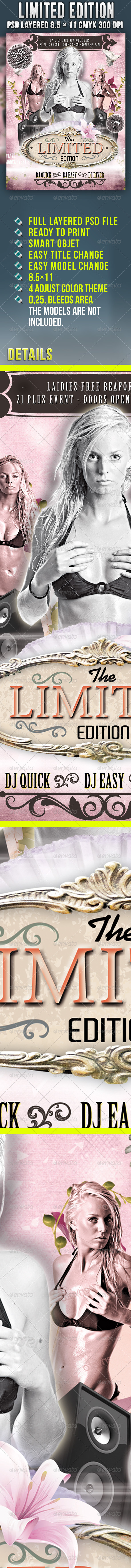 Limited Edition Party - Clubs & Parties Events