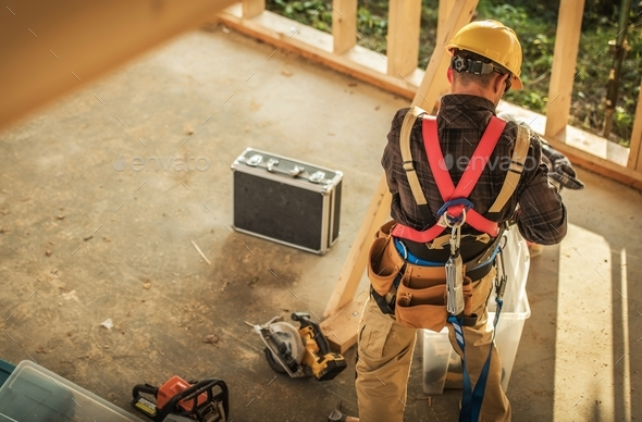 Construction Work Time - Stock Photo - Images
