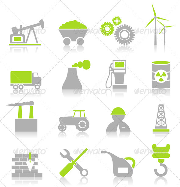 Industrial Icons7 - Industries Business