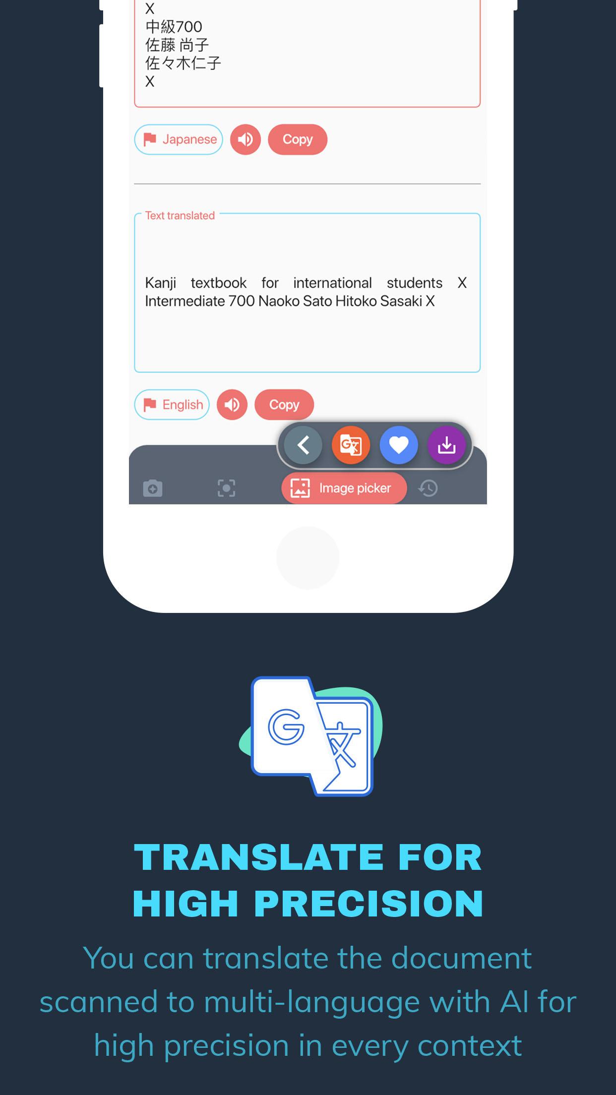 Flutter Scan and translate - 3