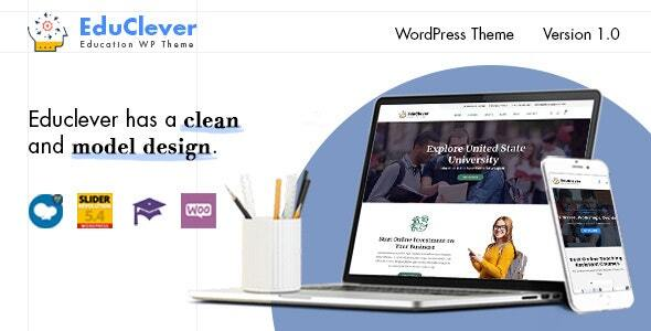 Educlever - Education WordPress Themes